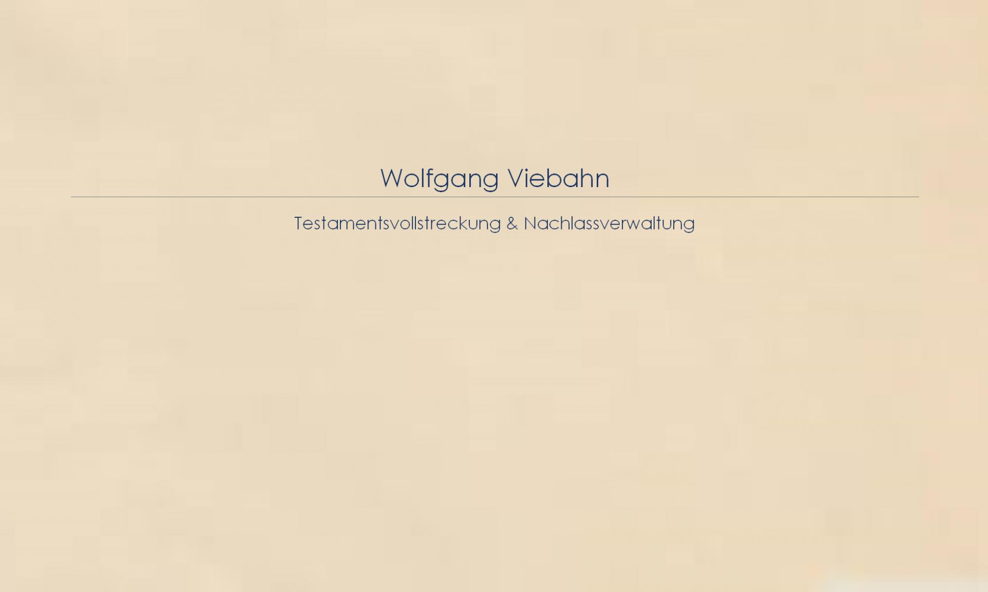 Wolfgang Viebahn